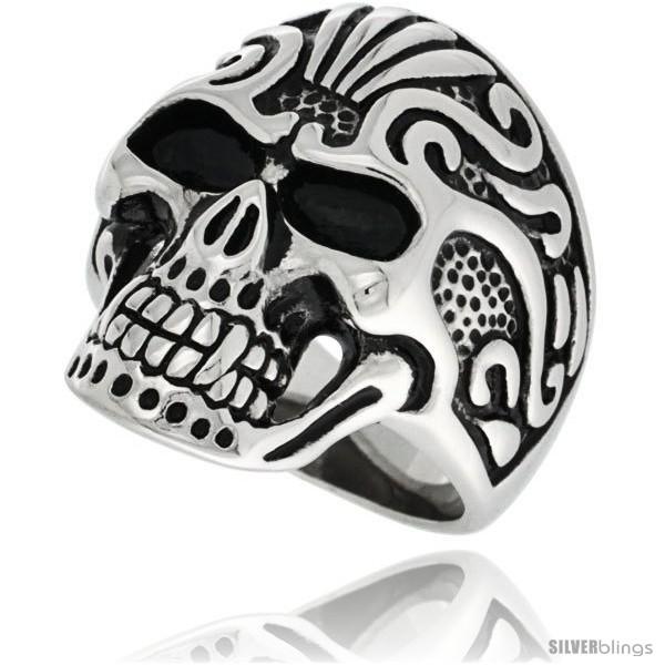https://www.silverblings.com/10102-thickbox_default/surgical-steel-biker-ring-vampire-skull-w-tribal-tattoos.jpg