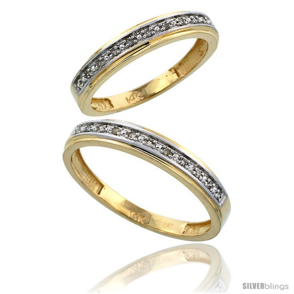 https://www.silverblings.com/10160-thickbox_default/14k-gold-2-piece-his-4mm-hers-4mm-diamond-wedding-band-set-w-0-16-carat-brilliant-cut-diamonds.jpg