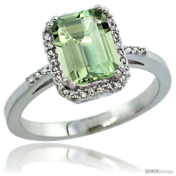 https://www.silverblings.com/1030-thickbox_default/sterling-silver-diamond-green-amethyst-ring-1-6-ct-emerald-shape-8x6-mm-1-2-in-wide-style-cwg02129.jpg