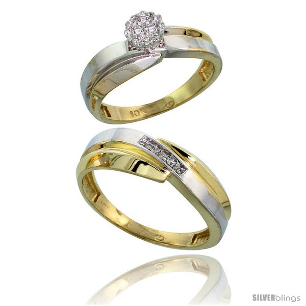 https://www.silverblings.com/10314-thickbox_default/10k-yellow-gold-diamond-engagement-rings-2-piece-set-for-men-and-women-0-08-cttw-brilliant-cut-6mm-7mm-wide.jpg