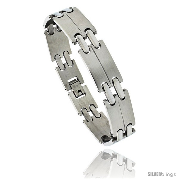 https://www.silverblings.com/1046-thickbox_default/stainless-steel-mens-double-bar-link-bracelet-1-2-in-wide-8-in.jpg