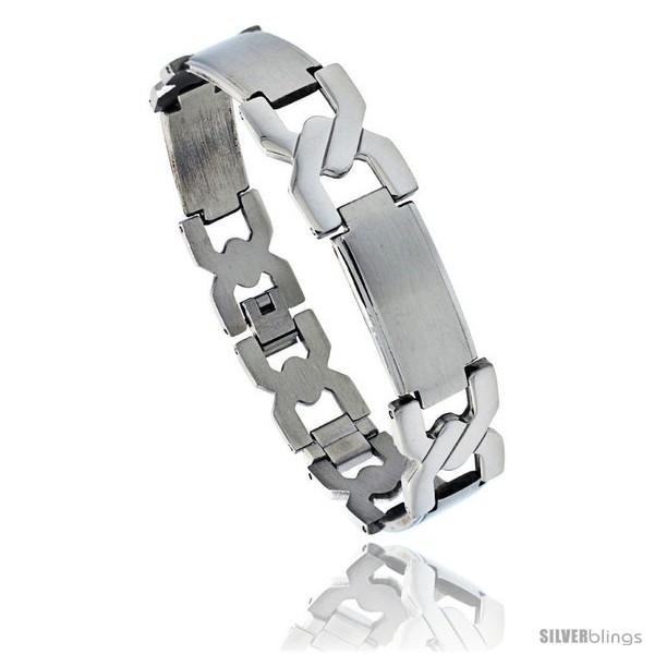 https://www.silverblings.com/1050-thickbox_default/stainless-steel-mens-crisscross-bar-link-bracelet-5-8-in-wide-8-75-in.jpg