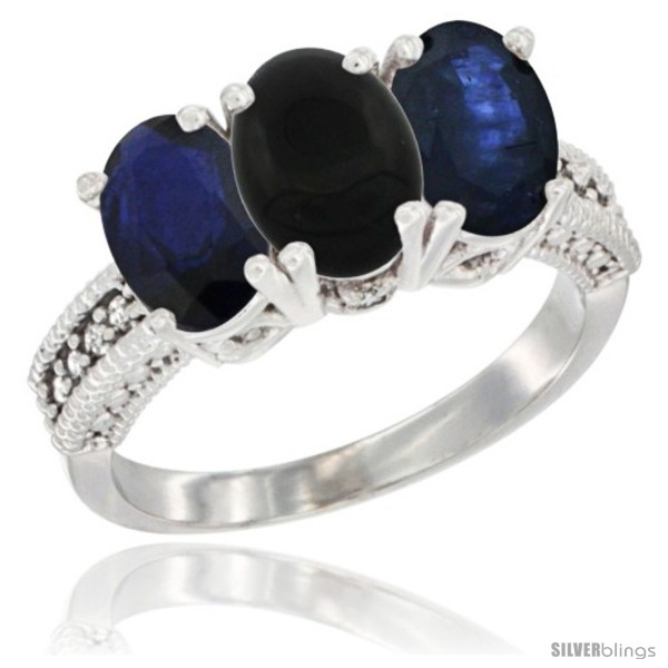 https://www.silverblings.com/10632-thickbox_default/10k-white-gold-natural-black-onyx-blue-sapphire-ring-3-stone-oval-7x5-mm-diamond-accent.jpg