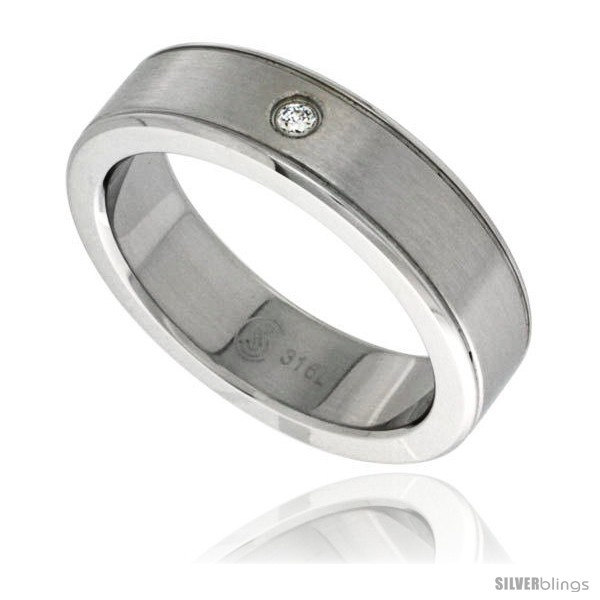 https://www.silverblings.com/10870-thickbox_default/surgical-steel-cubic-zirconia-grooved-ring-6mm-wedding-band-bull-nosed-edges.jpg