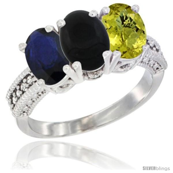 https://www.silverblings.com/10884-thickbox_default/10k-white-gold-natural-blue-sapphire-black-onyx-lemon-quartz-ring-3-stone-oval-7x5-mm-diamond-accent.jpg