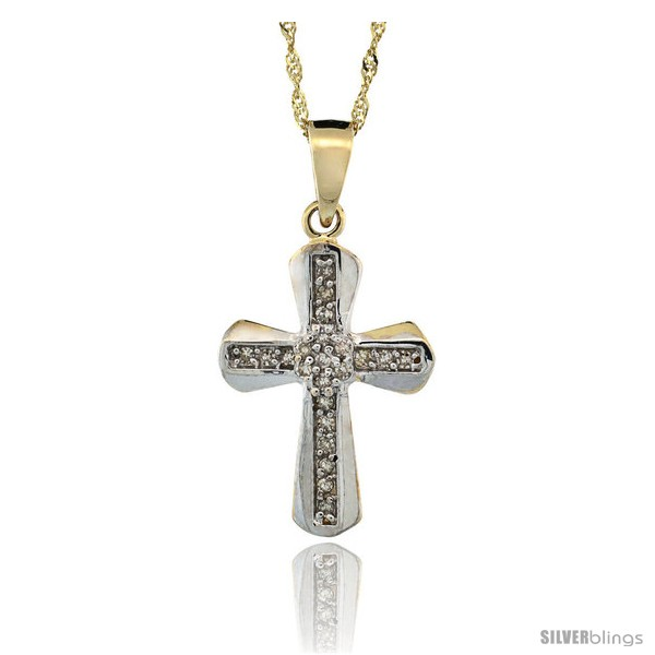 https://www.silverblings.com/11024-thickbox_default/14k-gold-18-in-chain-13-16-in-21mm-tall-diamond-clustered-cross-pendant-w-0-14-carat-brilliant-cut-diamonds.jpg