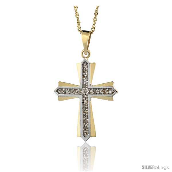 https://www.silverblings.com/11032-thickbox_default/14k-gold-18-in-chain-1-in-25mm-tall-diamond-cross-patonce-pendant-w-0-15-carat-brilliant-cut-diamonds.jpg