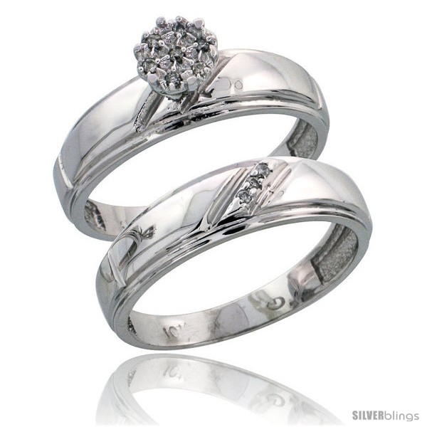 https://www.silverblings.com/11211-thickbox_default/10k-white-gold-diamond-engagement-rings-set-2-piece-0-06-cttw-brilliant-cut-7-32-in-wide.jpg