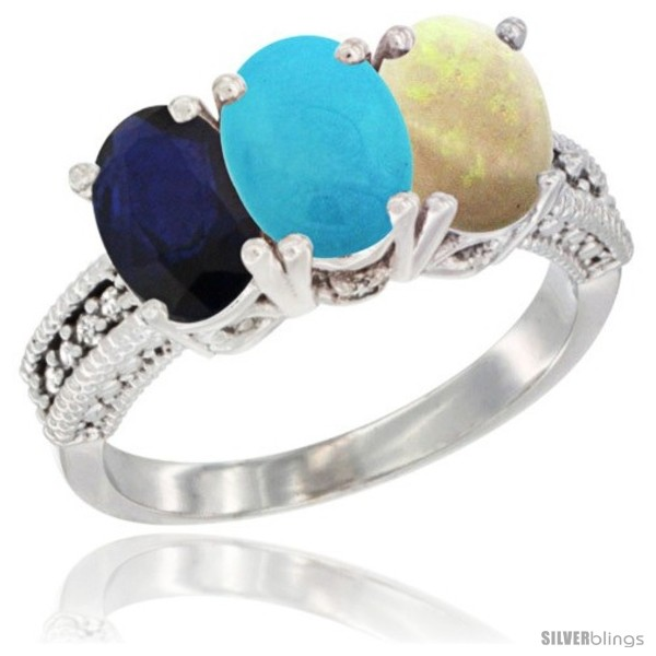 https://www.silverblings.com/11228-thickbox_default/10k-white-gold-natural-blue-sapphire-turquoise-opal-ring-3-stone-oval-7x5-mm-diamond-accent.jpg