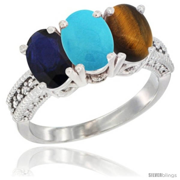 https://www.silverblings.com/11230-thickbox_default/10k-white-gold-natural-blue-sapphire-turquoise-tiger-eye-ring-3-stone-oval-7x5-mm-diamond-accent.jpg