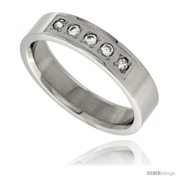 https://www.silverblings.com/11269-thickbox_default/surgical-steel-cubic-zirconia-5-stone-ring-5mm-wedding-band.jpg