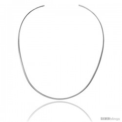 Sterling Silver 2.5 mm V shape Wire Chocker