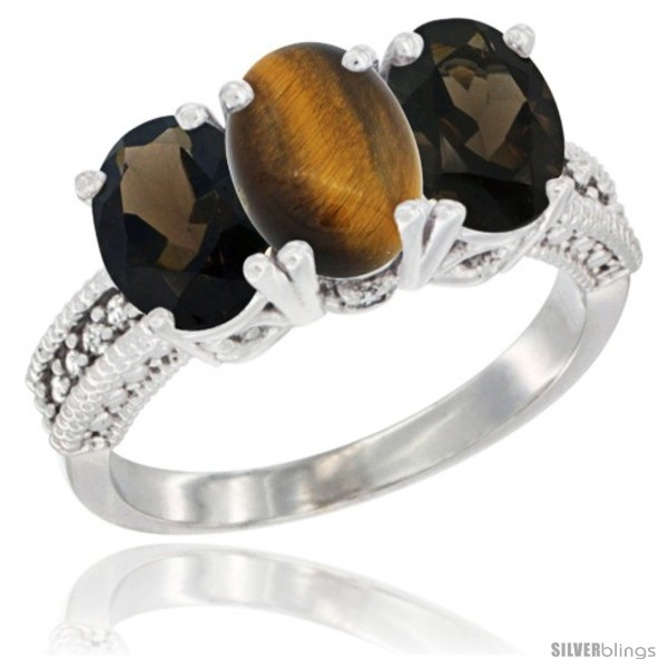 https://www.silverblings.com/1176-thickbox_default/10k-white-gold-natural-tiger-eye-smoky-topaz-sides-ring-3-stone-oval-7x5-mm-diamond-accent.jpg