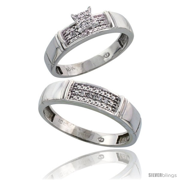 https://www.silverblings.com/12357-thickbox_default/10k-white-gold-diamond-engagement-rings-2-piece-set-for-men-and-women-0-10-cttw-brilliant-cut-4-5mm-5mm-wide.jpg