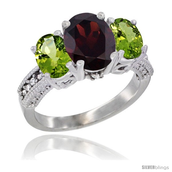 https://www.silverblings.com/12373-thickbox_default/14k-white-gold-ladies-3-stone-oval-natural-garnet-ring-peridot-sides-diamond-accent.jpg