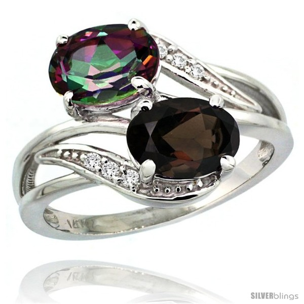 https://www.silverblings.com/1244-thickbox_default/14k-white-gold-8x6-mm-double-stone-engagement-smoky-mystic-topaz-ring-w-0-07-carat-brilliant-cut-diamonds-2-34-carats.jpg
