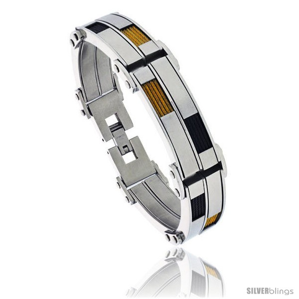 https://www.silverblings.com/1288-thickbox_default/stainless-steel-mens-cable-bracelet-two-tone-black-gold-finish-8-1-2-in.jpg