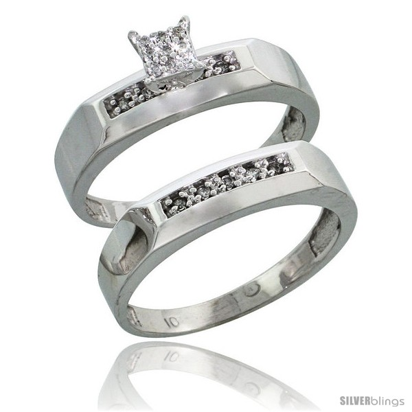 https://www.silverblings.com/13026-thickbox_default/10k-white-gold-diamond-engagement-rings-set-2-piece-0-10-cttw-brilliant-cut-3-16-in-wide-style-10w009e2.jpg