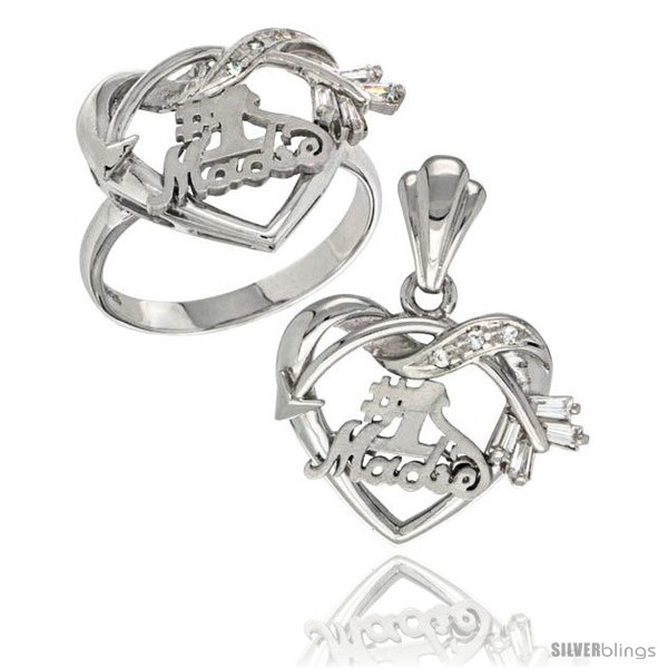 https://www.silverblings.com/13052-thickbox_default/sterling-silver-no-1-madre-w-cupids-bow-heart-ring-pendant-set-cz-stones-rhodium-finished.jpg