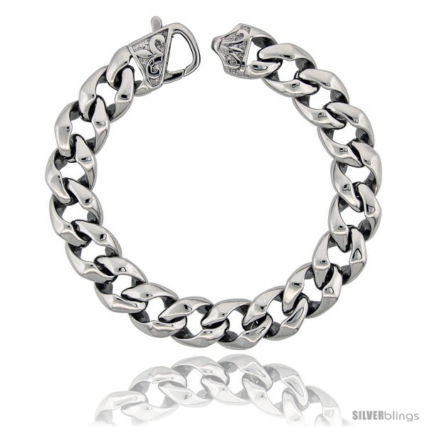 https://www.silverblings.com/1318-thickbox_default/stainless-steel-mens-cuban-open-link-bracelet-fleur-de-lis-clasp-hefty-hand-made-high-polish-size-8-5-in.jpg