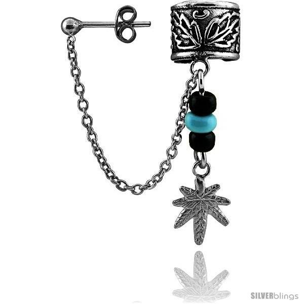 https://www.silverblings.com/13212-thickbox_default/sterling-silver-cuff-earring-one-piece-w-hanging-pot-leaf-3-8-in.jpg