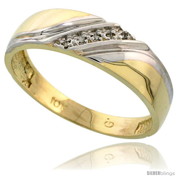 https://www.silverblings.com/13278-thickbox_default/10k-yellow-gold-mens-diamond-wedding-band-1-4-in-wide-style-10y110mb.jpg