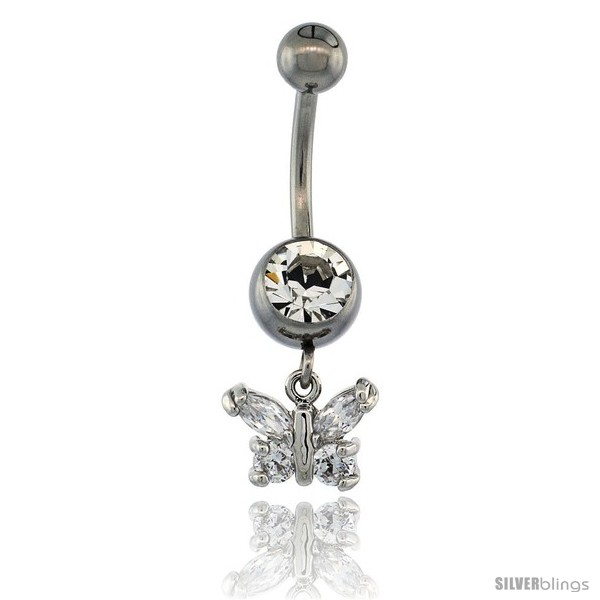 https://www.silverblings.com/13334-thickbox_default/surgical-steel-butterfly-belly-button-ring-w-crystals-3-4-in-17-mm-tall-navel-piercing-body-jewelry.jpg