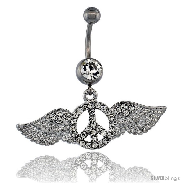 https://www.silverblings.com/13346-thickbox_default/surgical-steel-peace-sign-belly-button-ring-w-crystals-1-3-4-in-43-mm-wide-navel-piercing-body-jewelry.jpg