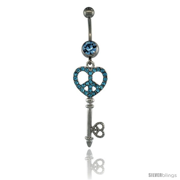 https://www.silverblings.com/13368-thickbox_default/surgical-steel-dangle-key-peace-sign-belly-button-ring-w-blue-crystals-2-5-16-in-59-mm-tall-navel-piercing-body-jewelry.jpg