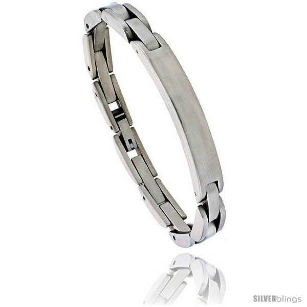 https://www.silverblings.com/1342-thickbox_default/stainless-steel-solid-link-id-bracelet-5-16-in-wide-8-in-long.jpg