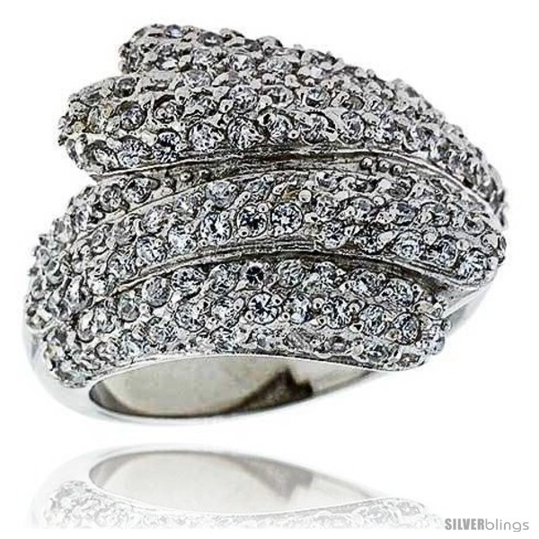 https://www.silverblings.com/13524-thickbox_default/sterling-silver-rhodium-plated-freeform-ring-w-tiny-high-quality-czs-13-16-21-mm-wide.jpg