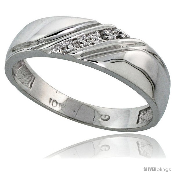 https://www.silverblings.com/13536-thickbox_default/10k-white-gold-mens-diamond-wedding-band-ring-0-03-cttw-brilliant-cut-1-4-in-wide-style-10w010mb.jpg