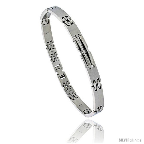 https://www.silverblings.com/1376-thickbox_default/stainless-steel-solid-link-bracelet-over-1-4-in-wide-8-1-2-in-long.jpg
