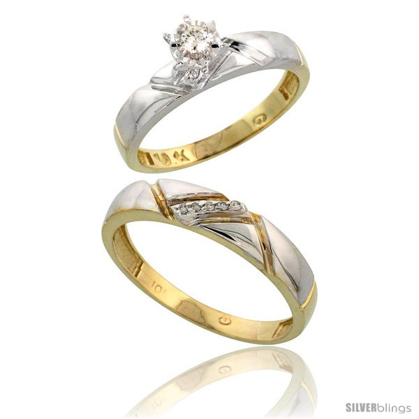 https://www.silverblings.com/13800-thickbox_default/10k-yellow-gold-2-piece-diamond-wedding-engagement-ring-set-for-him-her-4mm-4-5mm-wide.jpg