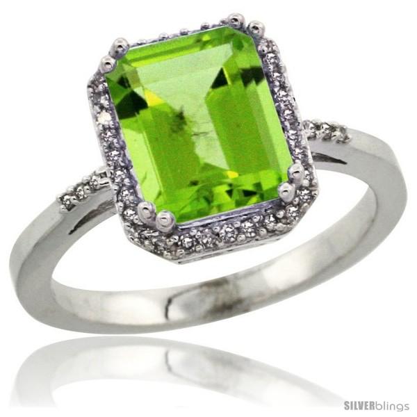 https://www.silverblings.com/13824-thickbox_default/14k-white-gold-diamond-peridott-ring-2-53-ct-emerald-shape-9x7-mm-1-2-in-wide.jpg