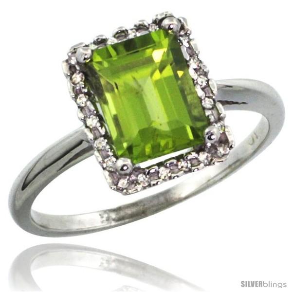 https://www.silverblings.com/13838-thickbox_default/14k-white-gold-diamond-peridot-ring-1-6-ct-emerald-shape-8x6-mm-1-2-in-wide.jpg
