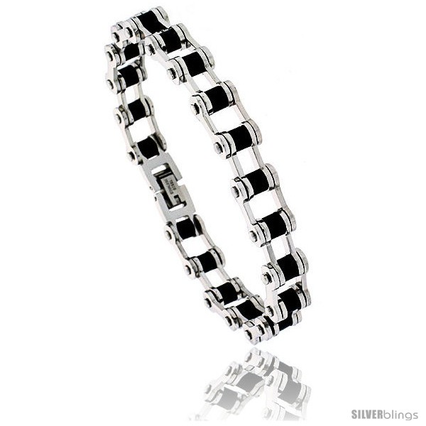 https://www.silverblings.com/1384-thickbox_default/stainless-steel-solid-link-rubber-bicycle-chain-bracelet-1-2-in-wide-8-in-long-style-bss65.jpg