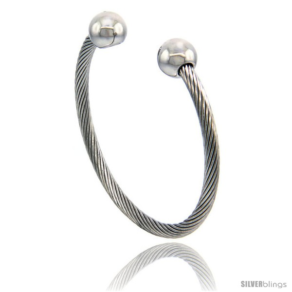 https://www.silverblings.com/1408-thickbox_default/stainless-steel-cable-golf-bracelet-w-bio-magnetic-ball-ends-7-in.jpg