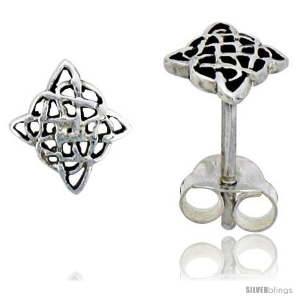 https://www.silverblings.com/14191-thickbox_default/sterling-silver-diamond-shaped-celtic-knot-stud-earrings-1-4-in.jpg