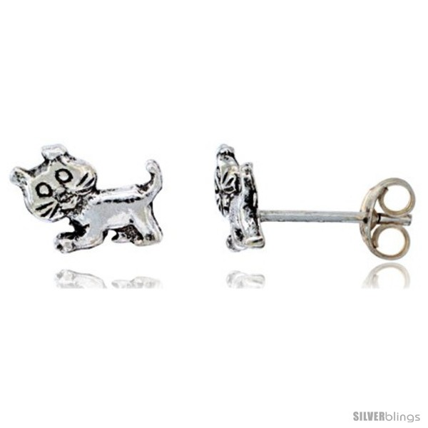 https://www.silverblings.com/14268-thickbox_default/sterling-silver-tiny-cat-stud-earrings-3-8-in-wide.jpg