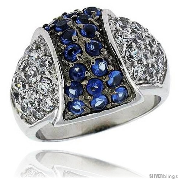 https://www.silverblings.com/14302-thickbox_default/sterling-silver-rhodium-plated-dome-ring-w-2mm-high-quality-sapphire-white-czs-9-16-15-mm-wide.jpg