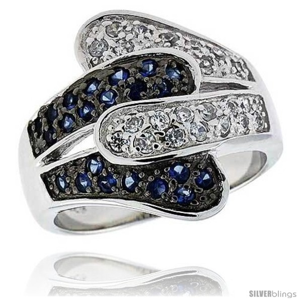 https://www.silverblings.com/14316-thickbox_default/sterling-silver-rhodium-plated-freeform-band-w-tiny-high-quality-sapphire-white-czs-3-4-19-mm-wide.jpg