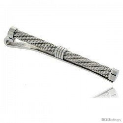 Stainless Steel Tie Clips - SilverBlings
