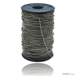Stainless Steel Bead Ball Chain 1.5 mm 100 Yard Spool