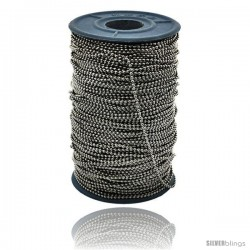 Surgical Steel Bead Ball Chain 1.5 mm 100 Yard Spool