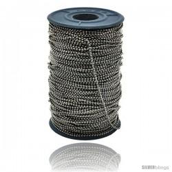 Surgical Steel Bead Ball Chain 1.5 mm 100 Yard Spool