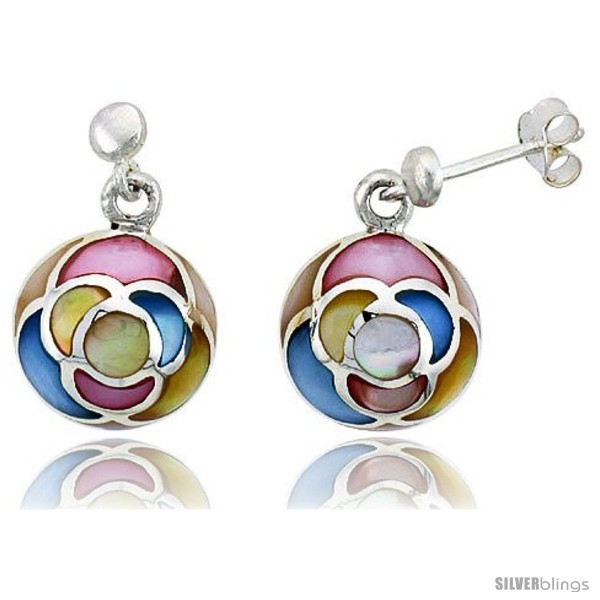 https://www.silverblings.com/14834-thickbox_default/sterling-silver-round-pink-blue-light-yellow-white-mother-of-pearl-inlay-earrings-1-2-13-mm-tall.jpg