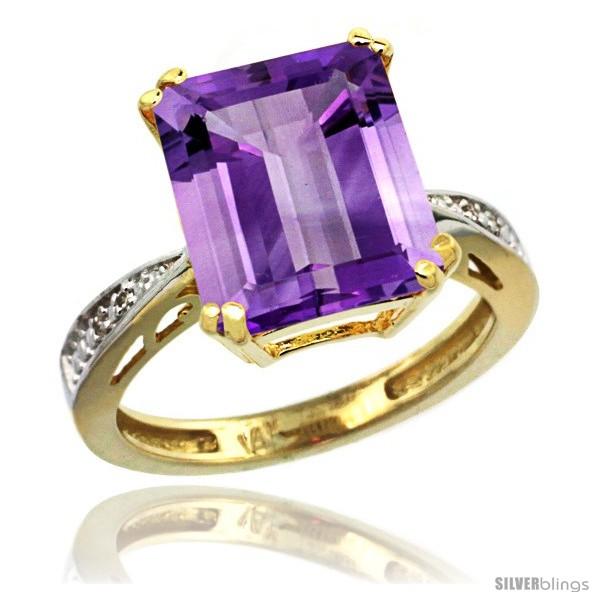 https://www.silverblings.com/14940-thickbox_default/14k-yellow-gold-diamond-amethyst-ring-5-83-ct-emerald-shape-12x10-stone-1-2-in-wide-style-cy401149.jpg