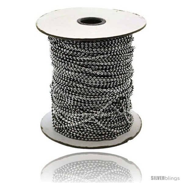 https://www.silverblings.com/14975-thickbox_default/surgical-steel-bead-ball-chain-1-5-mm-100-yard-spool-style-sstol25xl100.jpg