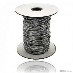 Stainless Steel Bead Ball Chain 2 mm 100 Yard Spool